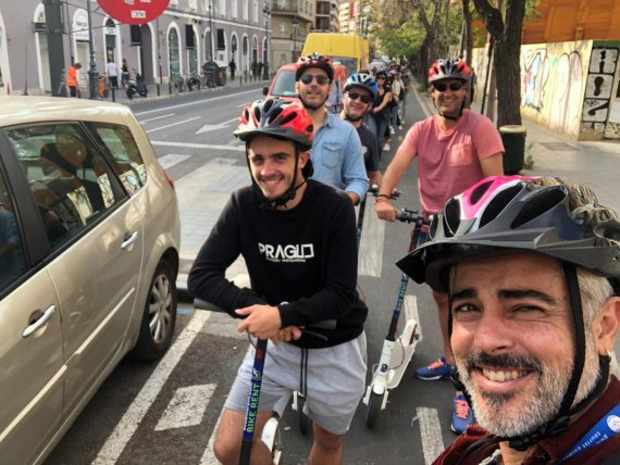 valencia scooter tour
